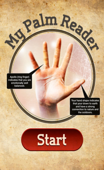 My Palm reading online.