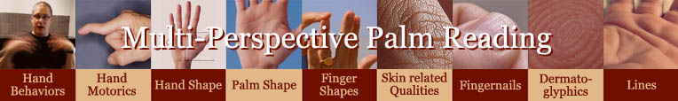 Multi-Perspective Palm Reading: 9 minor hand levels!
